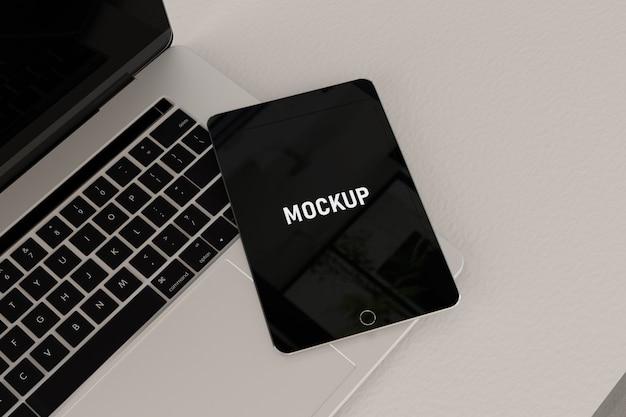 Tablet digital mockup
