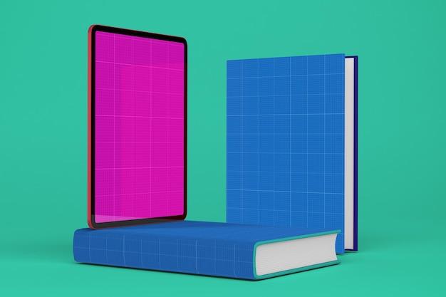 Tablet e livro