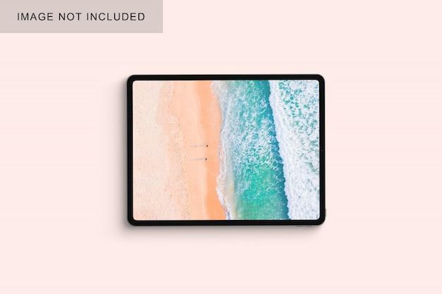Tablet em uma mesa