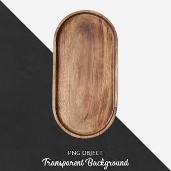 Tábua de servir de madeira transparente Psd Premium