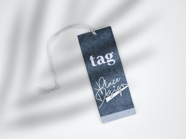 Tag mockup design