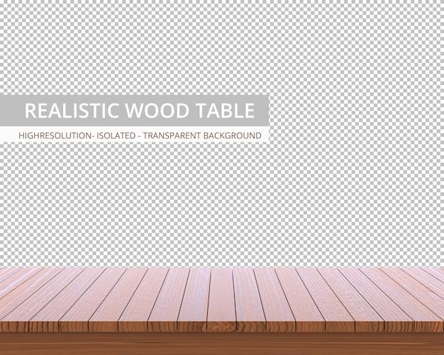 Tampo da mesa de madeira realista