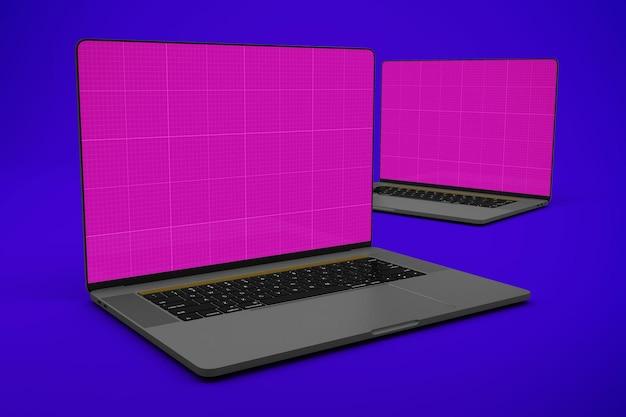 Tela inteira do laptop