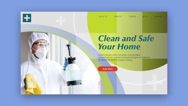 Tema de banner limpo e seguro