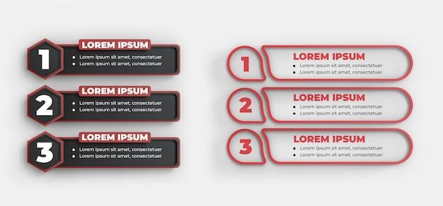 Template de etapa do elemento infograpich