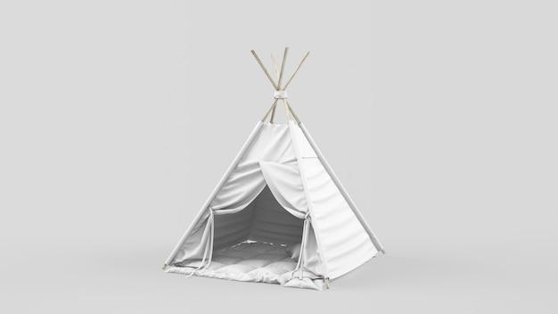 Tenda ou tenda indiana para crianças