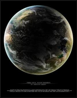 Terra nova planeta recurso