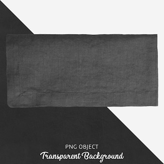 Têxtil de cozinha cinza escuro transparente