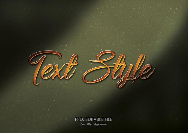Textura de efeito 3d dourada impressionante