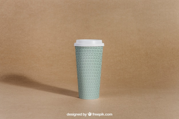 Tirar a xícara de café