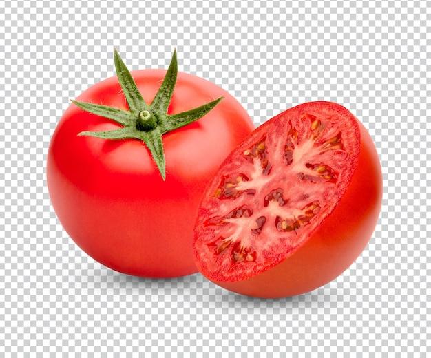 Tomates frescos isolados