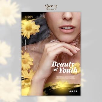 Tratamento de beleza e juventude para cuidados com a pele