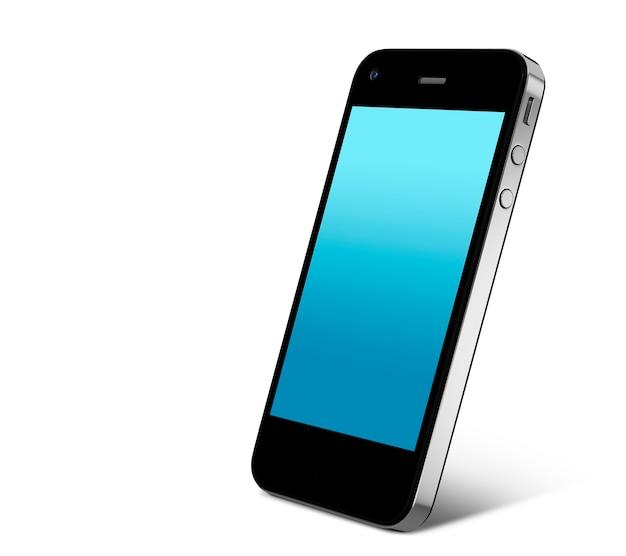 Tridimensional, imagem, de, telefone móvel