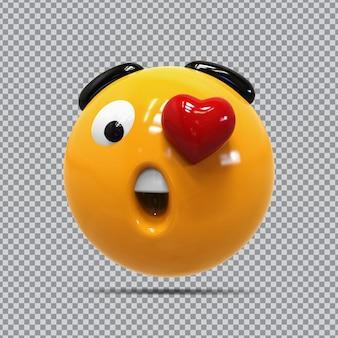 Uau, olhos de emoji amam tão divertidos