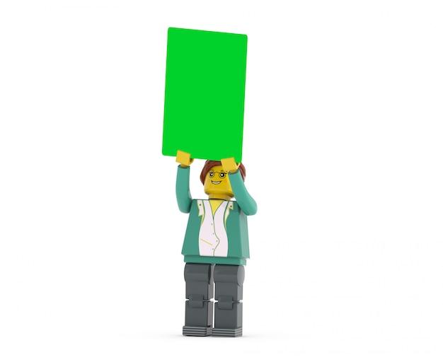 Única maquete de psd banner feminino