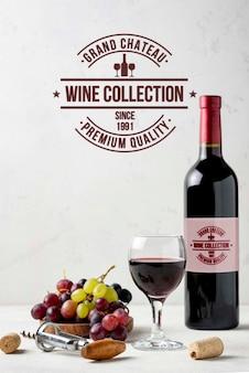 Uvas orgânicas para vinho