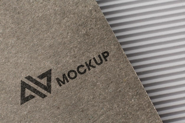 Variedade com modelo de cartão de marca da empresa