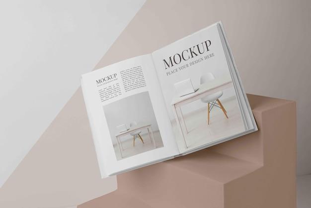 Variedade de capa de livro de mock-up