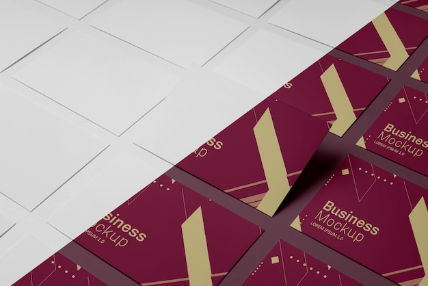 Variedade de maquetes de cartão de visita Psd grátis