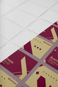 Variedade de maquetes de cartão de visita