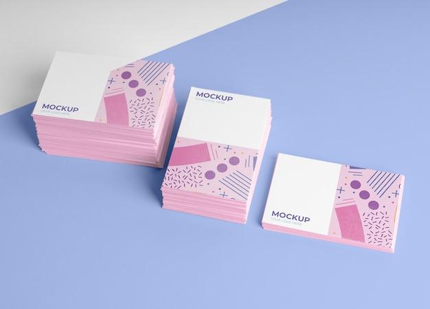 Variedade de modelo de cartão de visita padrão