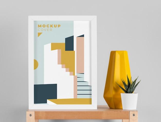 Variedade de moldura de mock-up moderna