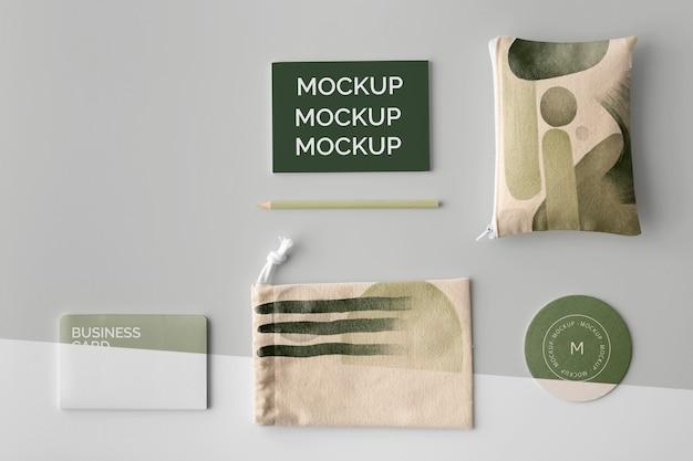 Variedade de produtos abstratos de mercadoria