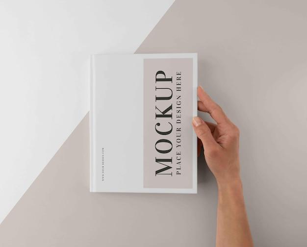 Variedade mínima de mock-up de livros