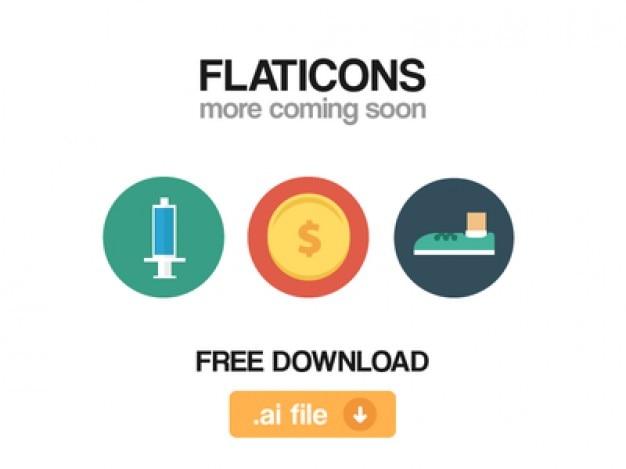 Vários flaticons