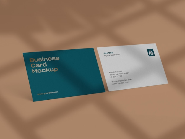 Veja mais detalhes sobre o design do modelo de cartão de visita