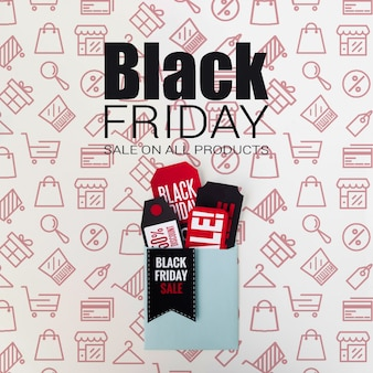 Vendas promocionais sazonais de sexta-feira negra
