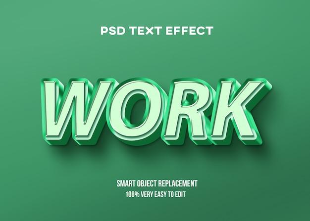 Verde pastel com efeito de texto brilhante