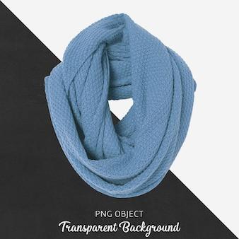 Vista frontal da maquete do lenço azul