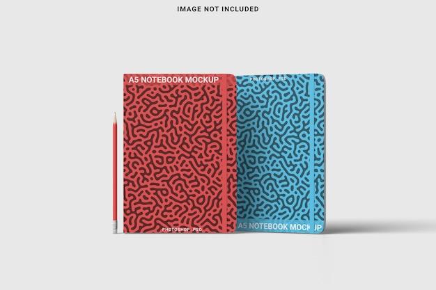 Vista frontal do notebook com canto redondo