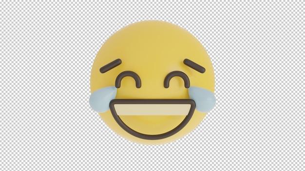 Vista frontal rindo 1 emoji png