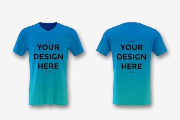 Vitrine de maquete de t-shirt