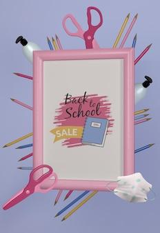 Voltar para maquete de papelaria da escola