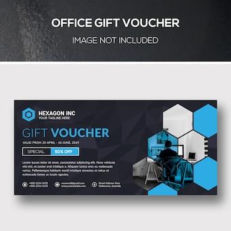 Voucher de presente do escritório