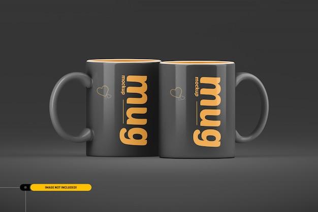 Xícara de café. maquete da caneca