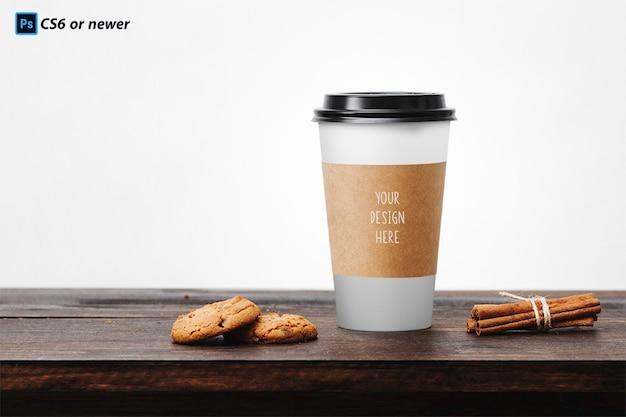 Xícara de café mock up