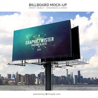 Maquette Billboard