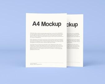 Maquette de brochure commerciale