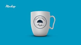 Tasse de thé tasse mock up