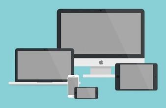 Apple-Produkte Vorlagen