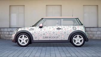 Auto-Modell von der Seite