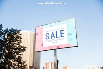 Billboard-Modell-Vorlage