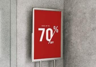 Bis zu 70% Rabatt auf das Plakatmodell