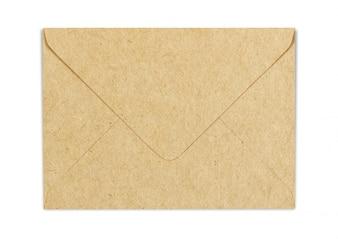 Braunes Bastelpapier-Umschlag-Modell