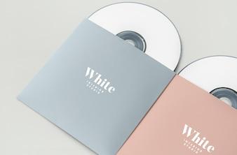 CD-Paket für Werbematerial