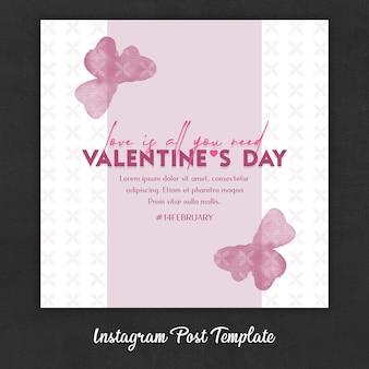 Instagram Post Templates zum Valentinstag